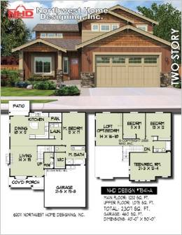 Design nhd 7541 a european two story house plan for 2 story european house plans