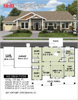 Ranch Style Home Plans, House Plans on colonial house plans with garage, ranch house plans with garage, split entry house plans with garage, split level house plans with garage,