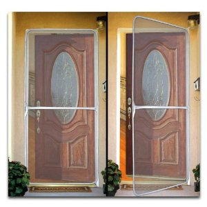 Jobar's 83-4283V Instant Screen Door for Home and