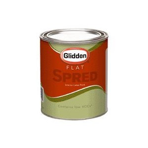 Glidden Company SV3413 QT Spred Flat Interior Base