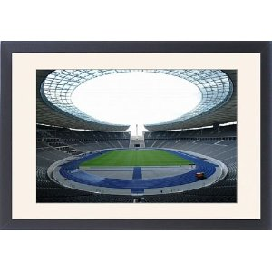 Interior of the Olympic Stadium, Berlin, Germany F