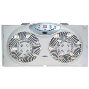Bionaire BW2300 Twin Window Fan with Remote Contro